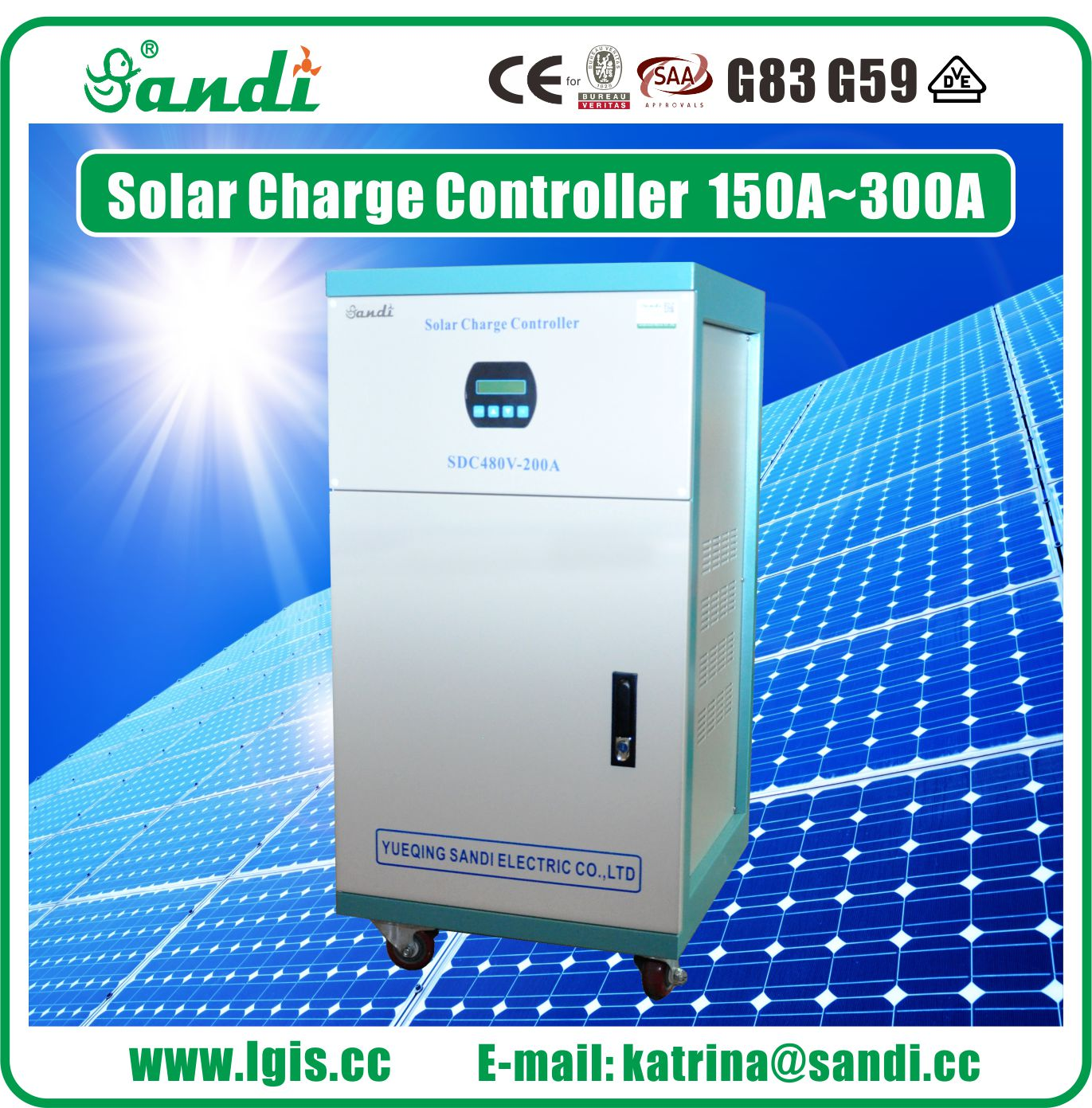 600V solar charge controller