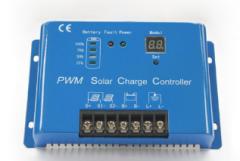 Metal Case 12V/24V 30A Solar Power Controller