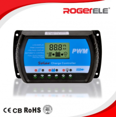 RogerEle   30 Amp PWM Solar Charge Controller   Solar Charge