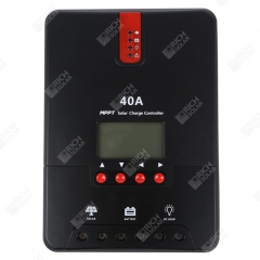 RICH SOLAR 40 AMP MPPT Solar Charge Controller Negative Ground