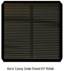 5 Volt 1 Watt Solar Panel  Solarmodule  Panneaux Solaires 1.05