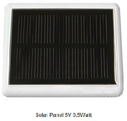 5V 0.5W solar panel