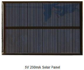 5V 260mA Epoxy pv module  1.3