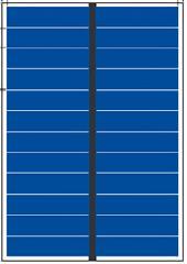 6V 1.2W small solar panel 1.2