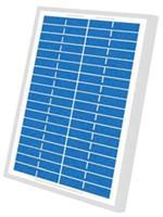 5W 18V solar PV module 5