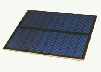 5 Volt 100mA PET Photovoltaic Solar Panel