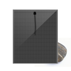 THIN FILM a-Si SOLAR PANEL,NON TRANSPARENT  2 LAYERS SOLAR GLASS
