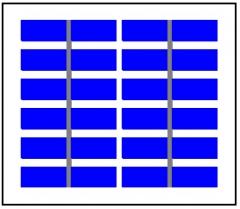 6 Volt 1.8Watt 300mA  multicrystalline solar panel    Solarmodule    Paneles Solares 1.8