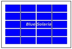 5 Volt 1.1W 220mA Solar Panel  PET PV Panel 1.1