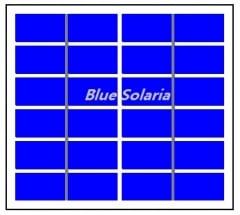 6V 2.7 Watt 450mA Mono crystalline Solar Module  Epoxy Solar Panel 2.7