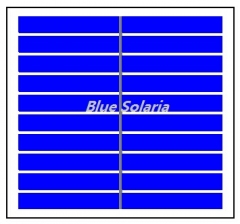 5 Volt 150mA 0.75 Watt Polycrystalline PV Panel, PET Laminated Solar Module