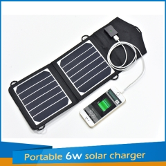 Portable 6W Solar Charger 6