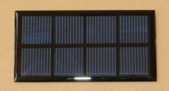 2V 400mA 0.8W small epoxy resin solar panel