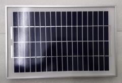 10W 9V Glass Solar PV Module 10