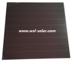 5V 210uA Indoor Amorphous Si Solar Cell 0.00105