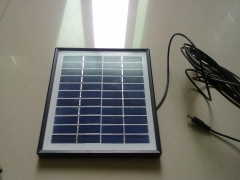 11 V 4.5 W solar panel in black frame