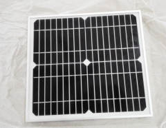 20W 18V monocrystalline framed solar panel