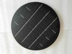 5V 3.7W Circular solar panel 3.7