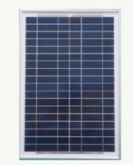 55W 18V Multicrystalline Solar Panel 55