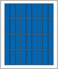 10W 16.8V Solar Panel, Poly 10