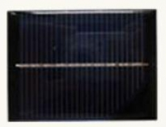 0.65W 5V Mono PV Panel for solar LED lighting