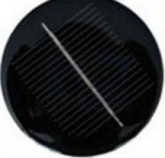 3V 0.45W Round shaped solar panel 0.45