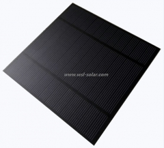 6V 3.6W 600mA Photovoltaic Solar Module, PET Solar Panel 3.6