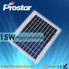 15W Poly Solar Panel 15
