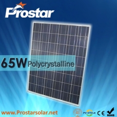65W Poly Solar Panel 65