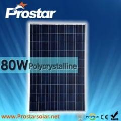 80W Poly Solar Panel 80