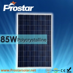 85W Poly Solar Panel 85