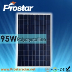 95W Poly Solar Panel 95