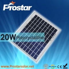 20W Poly Solar Panel