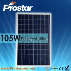 105W Poly Solar Modules 105