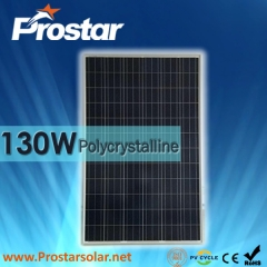 130W Polu Solar Panel 130
