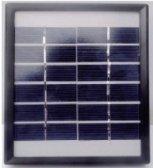 2W 10V PV Panel with plastic frame 2