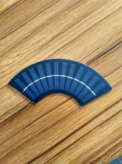 0.96W 6V fan-shaped PET Solar Panel 0.96
