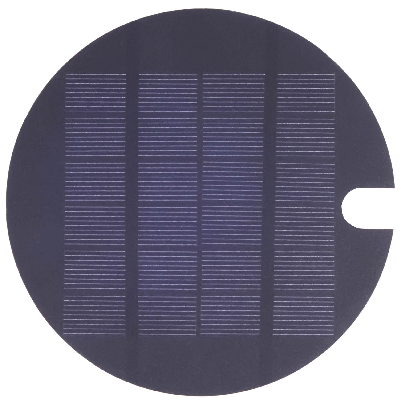 Blue Solaria Circular 6 V Mono Solar Panel With A Hole Solar Panel Datasheet Enf Panel Directory