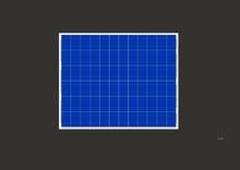 60W 18V Multi-crystalline Solar Module 60