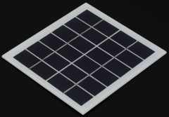 lightweight 6V 1.8W 0.3A rigid solar panel