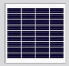 3W 4.5V Tempered glass Solar Module with frame 3
