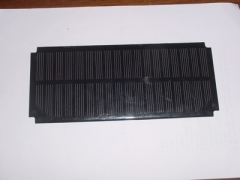 1.2W 8V PET Solar Energy Panel
