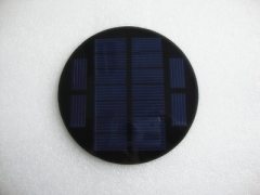 4.5V 0.9W PET Circular PV Panel 0.9