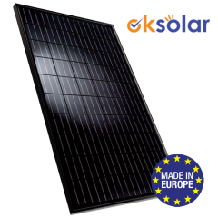 Premium Line All Black Monocrystalline 60 Cells - Made in Eu