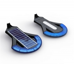 long shape solar panel for LED lighting