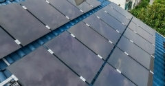 Thin film a-Si solar for rooftop, black (S1AS110) 130