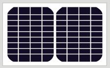 5W 18V Solar Module, Mono