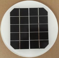 Diameter=155mm 5V 2.2W 0.44A solar panel 2.2