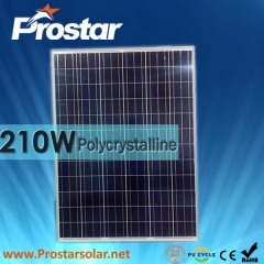 210W Poly Solar Panel 210
