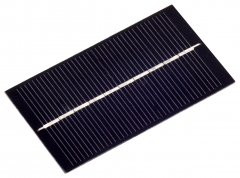 EVA laminated solar cell